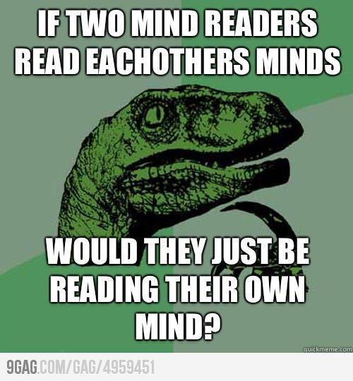 mind reading funny pinterest
