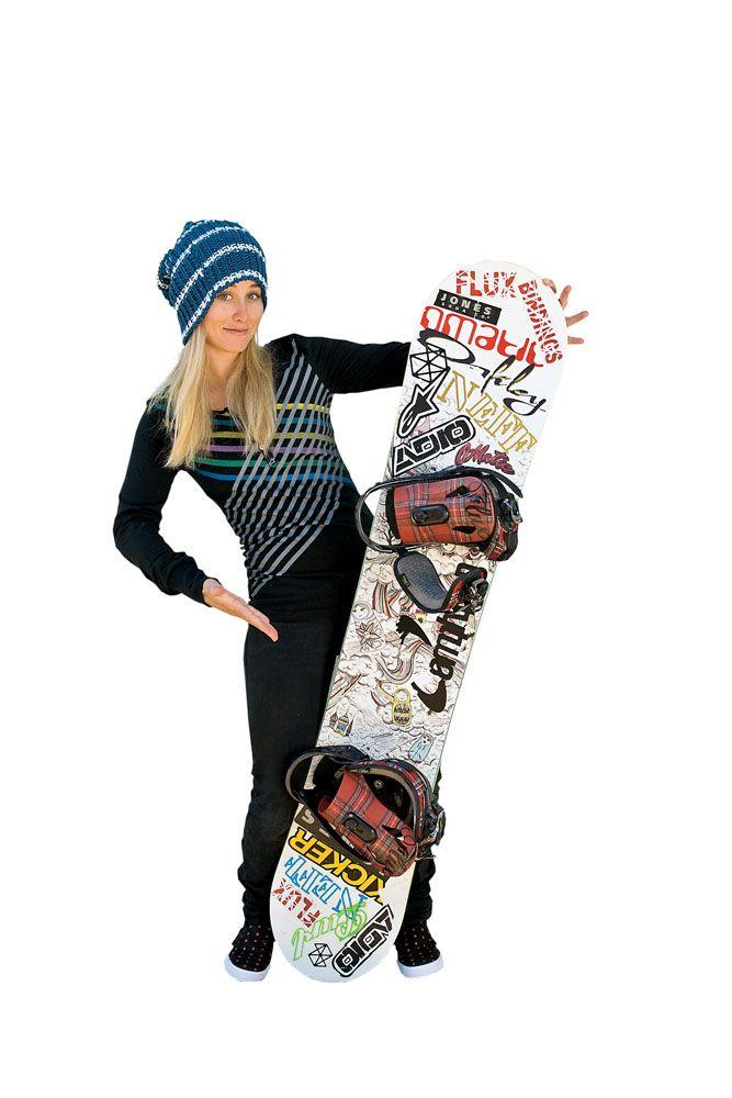 Chanelle Sladics - snowboardingChanelle Sladics Snowboarding