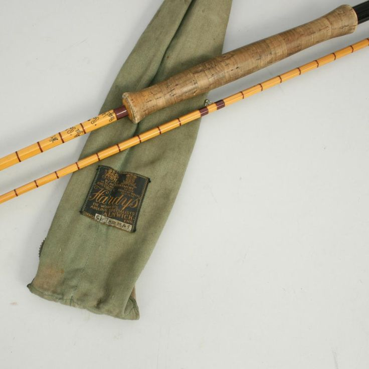 Vintage hardy pope fly fishing rod bamboo fly rods for Antique fishing poles