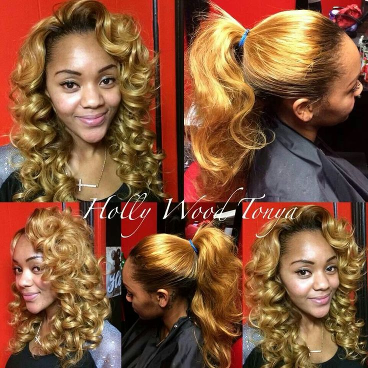 Love the pull up sew in s looks natural kinky curly relaxed