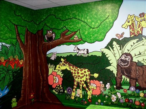 Jungle sunday school