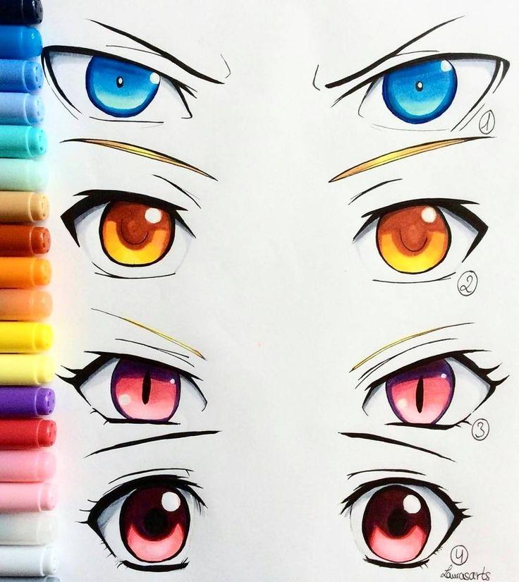 Best  Anime Eyes Ideas On Pinterest Anime Drawings
