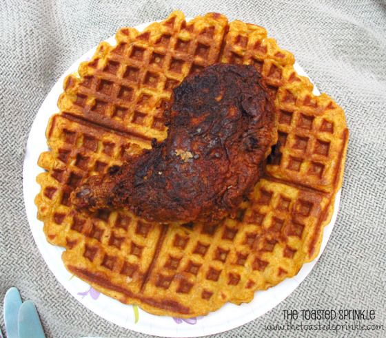 ... Chicken and Sweet Potato Waffles | Cooking - Waffles! (in the m