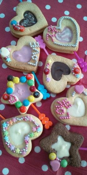 Valentine's Cookie Decorations