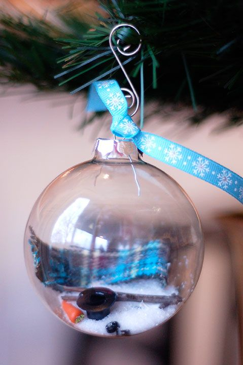 melted snowman ornament | Ideas | Pinterest