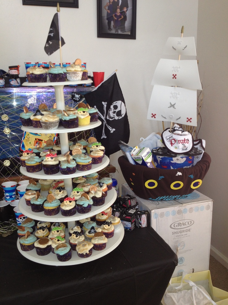 pirate themed baby shower perfect for a park university friend of mine
