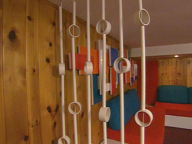 PVC room divider