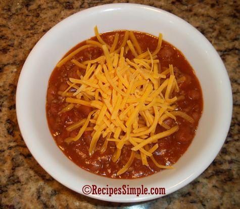 Easy Chili | Recipes | Pinterest