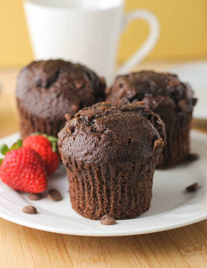 Double Chocolate Chip Muffins | Best of Food Blogger Recipes | Pinter ...