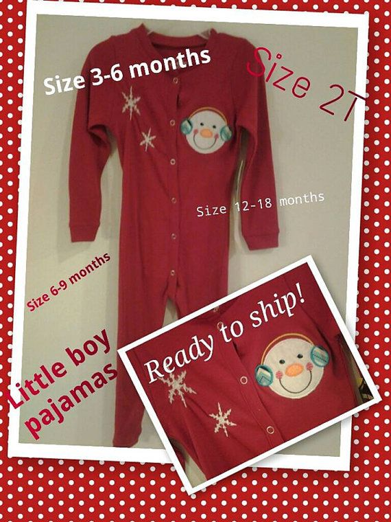 Personalized with name snowman baby boy by justsewsouthern on etsy