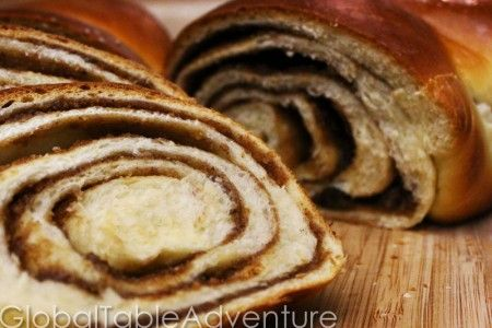 Croatian Holiday Nut Roll / Povatica Recipe (Global Table Adventure)