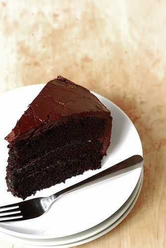 Double Chocolate Layer Cake | Sweet Tooth | Pinterest