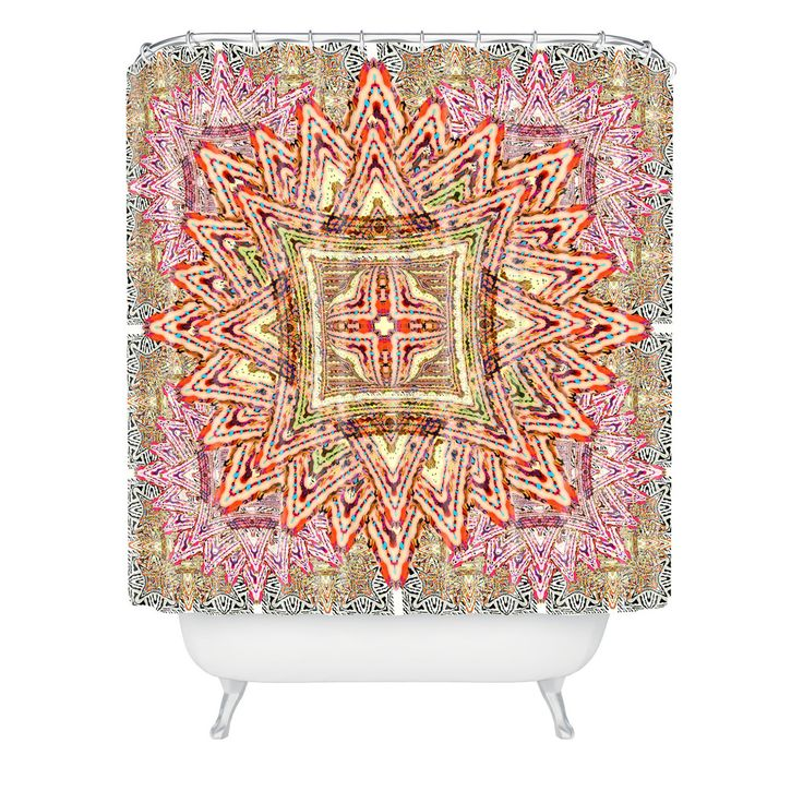 ... Padilla Boho Vintage Shower Curtain | DENY Designs Home Accessories