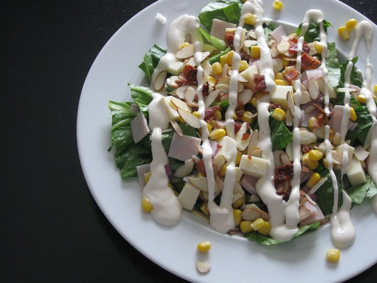 All-American Cowboy Salad | What's for Dinner Tonight? | Pinterest