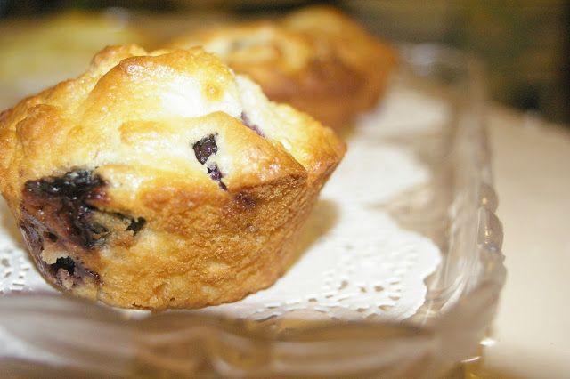 Blueberry & White Chocolate Muffins | Yummy Desserts | Pinterest