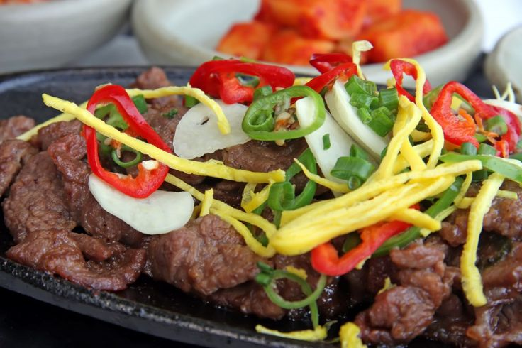 Korean Bulgogi | Traditional Family Recipes | Pinterest