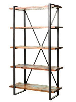 shelves ge rustic wood metal shelf home time pinterest. Black Bedroom Furniture Sets. Home Design Ideas