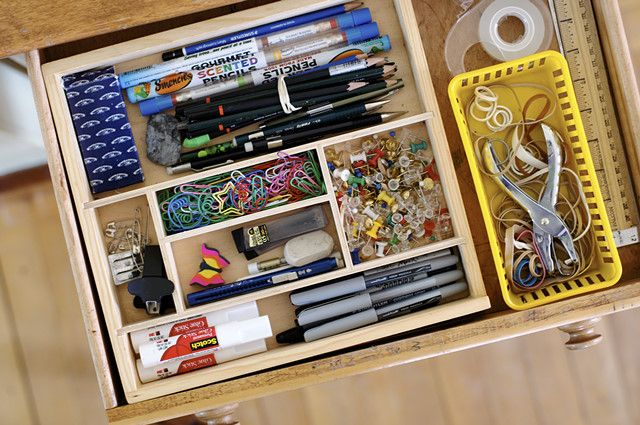 Small Craft Storage with Drawers
