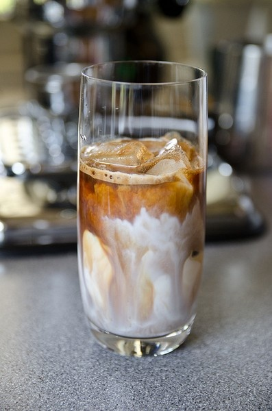 better than coffee - ice coffee! I just love how this looks. I both ...