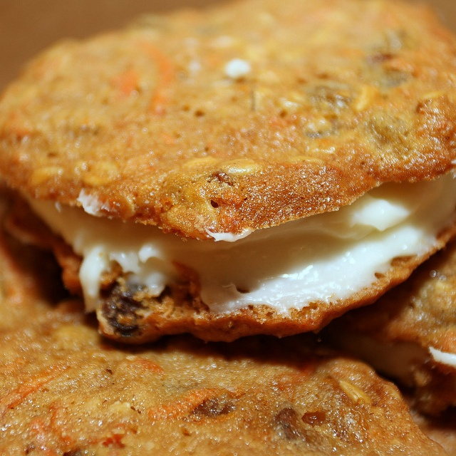 inside out carrot cake cookies | Cookie! Cookie! | Pinterest
