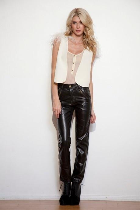 Leather pants by Alana Hale