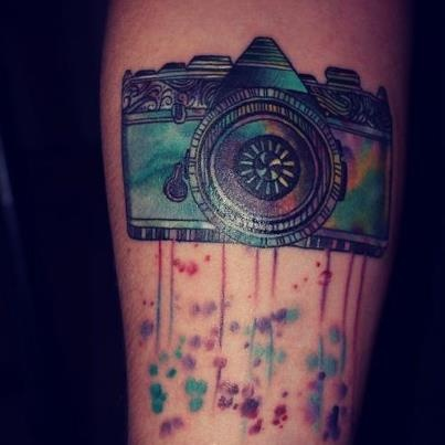 realistic water colorRealistic Water Tattoo