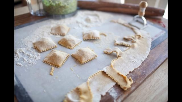 Brussel Sprout, Fig, and Feta Ravioli | Pasta Recipes | Pinterest