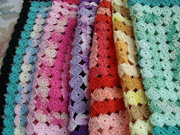 Crochet Yoyo Patterns : Crochet Yo-Yo Afghan Tutorial