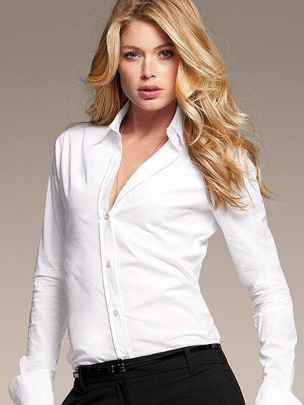 The french cuff poplin shirt my style pinterest French cuff shirt women