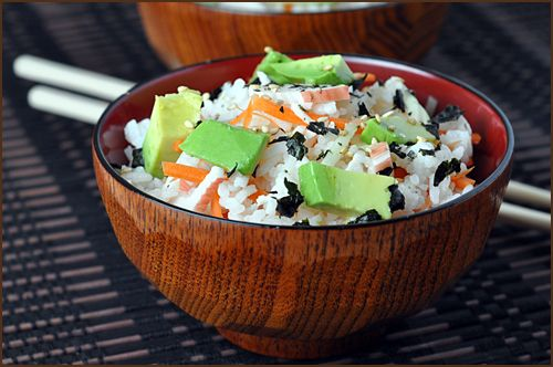 Sushi Bowls | Asian Inspired Dishes | Pinterest