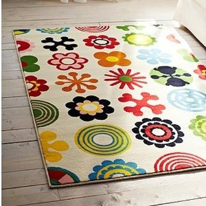 6'x4' area rug for $49