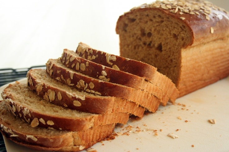 Oatmeal Wheat Bread | I love to cook and eat... Breads | Pinterest