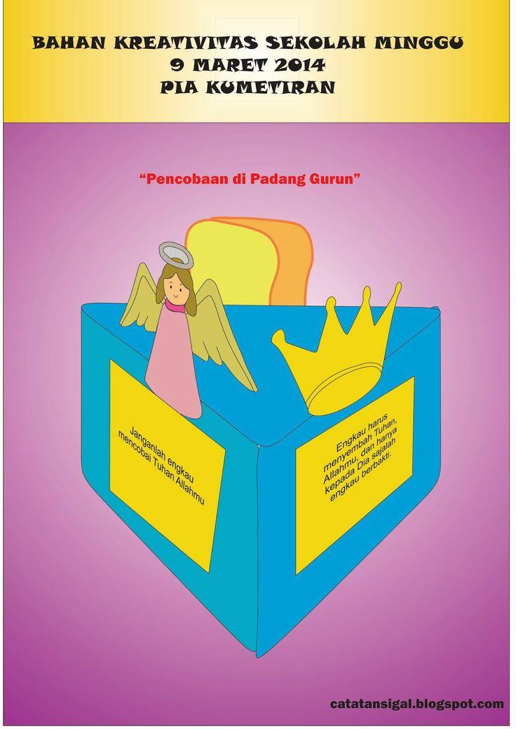 Catatan sigal bahan kreativitas sekolah minggu 9 maret 2014 pia