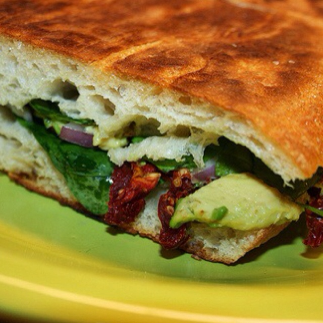 ... spinach and avocado ham swiss avocado and spinach panini recipes