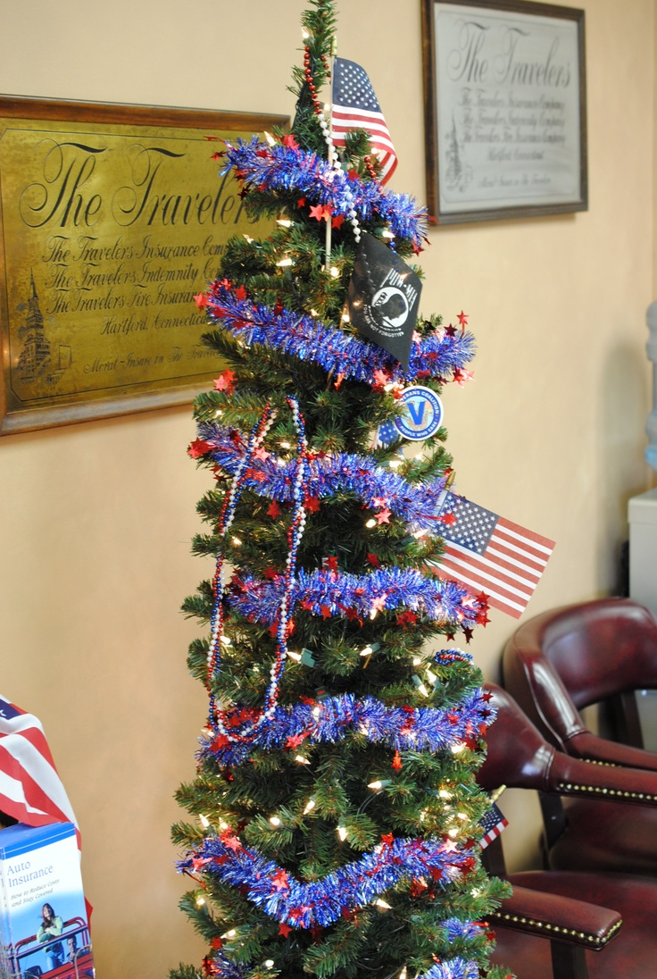 memorial day tree ornaments