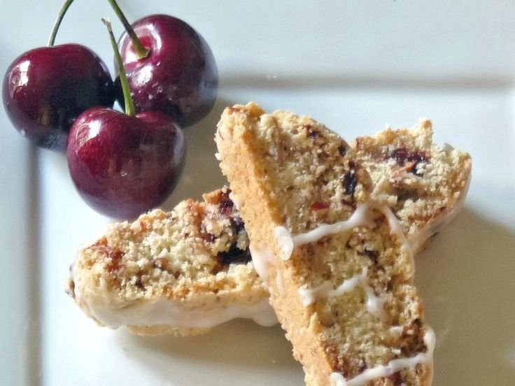 Cherry Almond Biscotti | Lovely Desserts | Pinterest