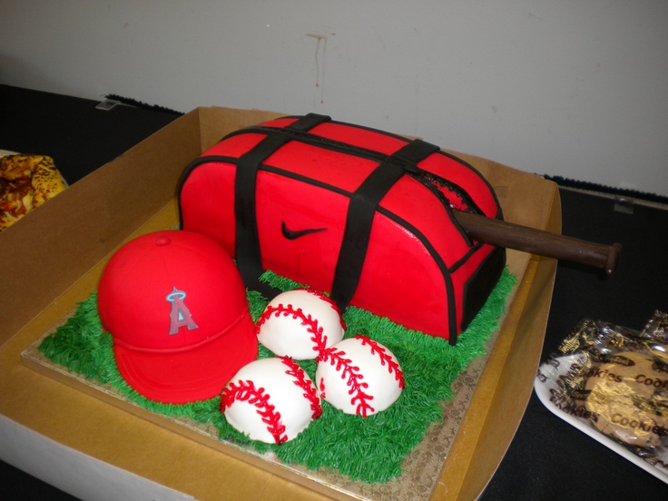 Images Of Birthday Cake For Son : my son s birthday cake Anaheim Angels Pinterest
