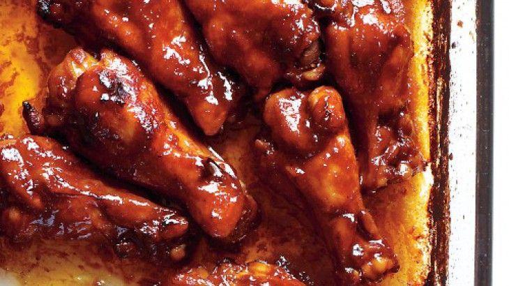 Sriracha-Glazed Chicken (Originally from Martha Stewarts site)