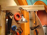 How to make an overhead power strip. (DIY Network)