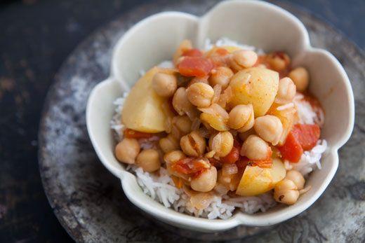 Chickpea Potato Curry | Recipe