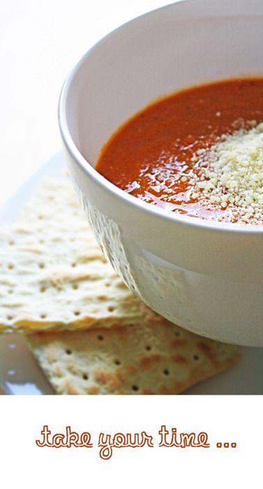 A Simple Tomato Soup Recipe — Dishmaps
