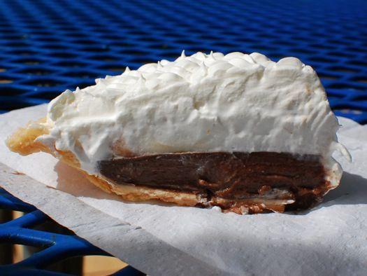 Chocolate Haupia pie | AT THE BEACH | Pinterest