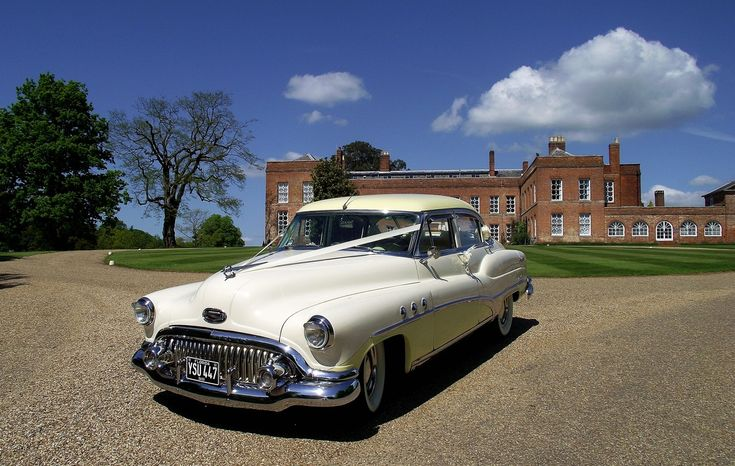 "Our 50's American wedding car ""Daisy"", available  for hire in Essex, London and Kent. Please visit http://www.dreamamericancars.co.uk/ for more details."