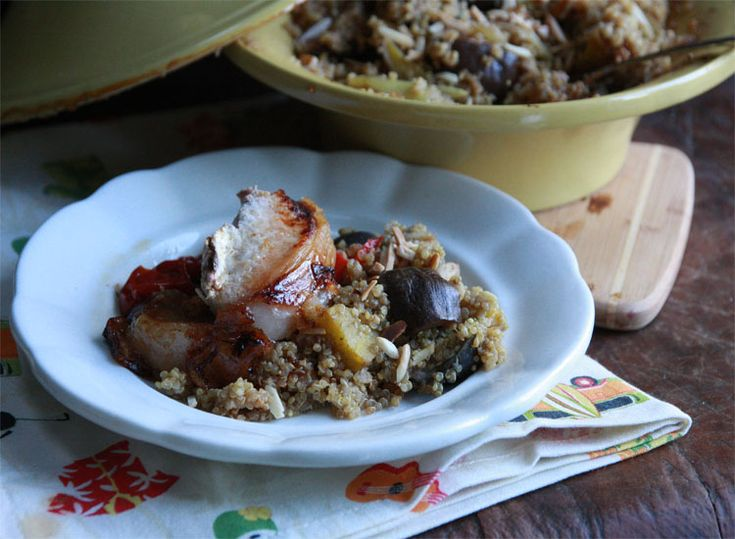 Moroccan Quinoa: full of Moroccan flavours and lots of vegetables and ...