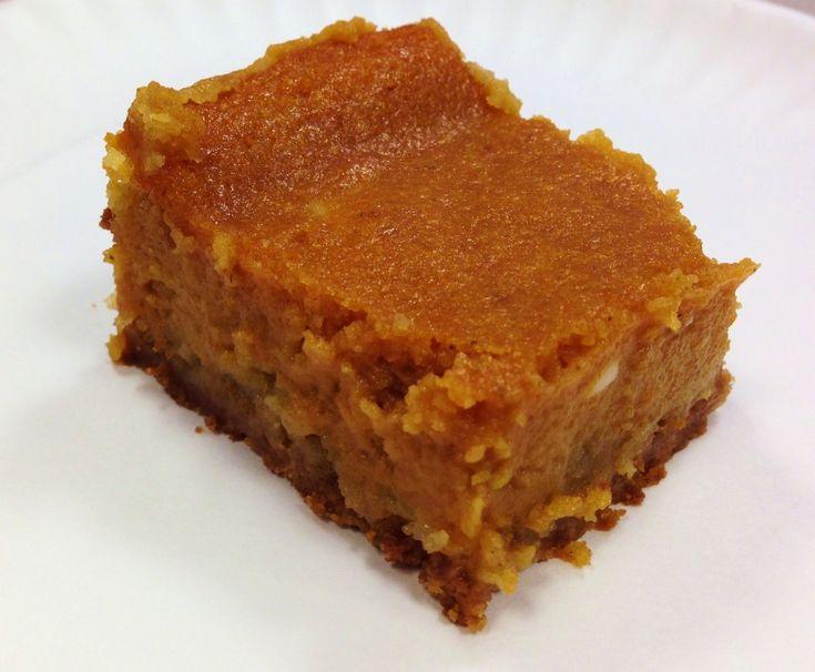 Pumpkin Gooey Butter Cake   Favorite Recipes   Pinterest