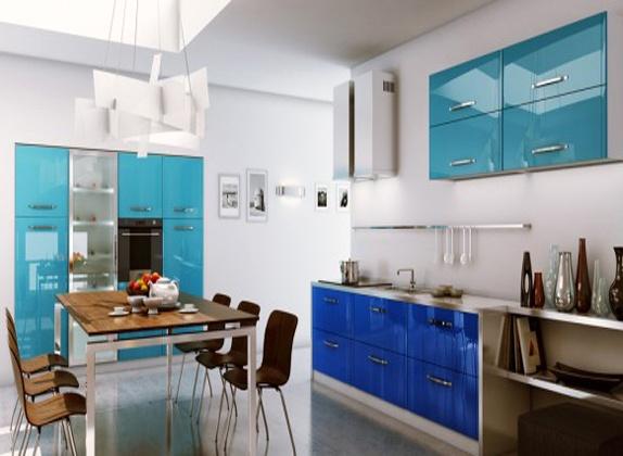 Teal kitchen!  Home  Decor  Pinterest