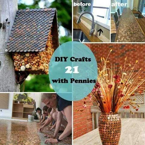 penny craft hobbies crafts pinterest
