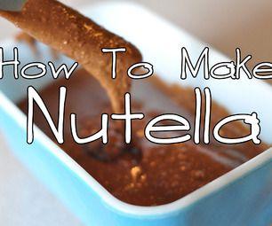 How To Make Homemade Nutella #recipe #copycat #spread