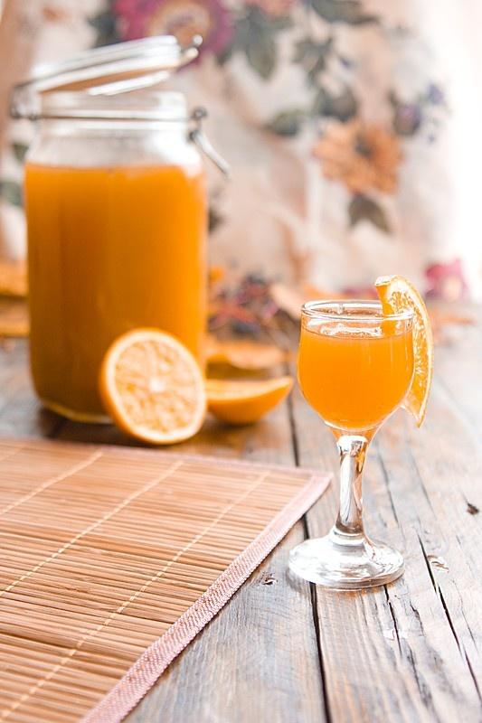 Как сделать ликёр апельсиновый