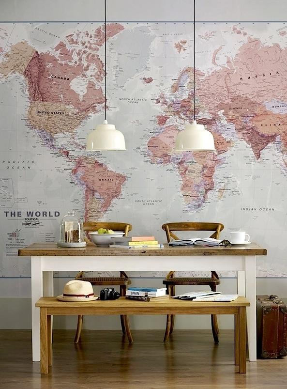 Map Wallpaper.